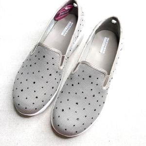 SKECHERS Sparkle Gowalk Slip On Shoes